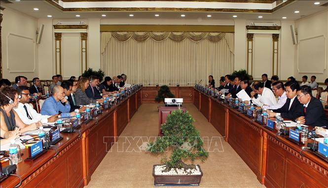 Thành phố Hồ Chí Minh và Hoa Kỳ hợp tác xây dựng giao thông thông minh
