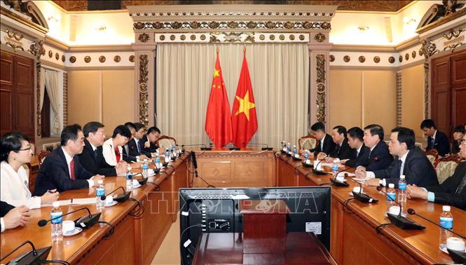 Tỉnh Hồ Nam (Trung Quốc) mong muốn tăng cường hợp tác với Thành phố Hồ Chí Minh