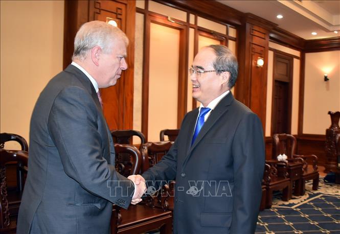 Tăng cường hợp tác giữa TP Hồ Chí Minh và Vương quốc Anh