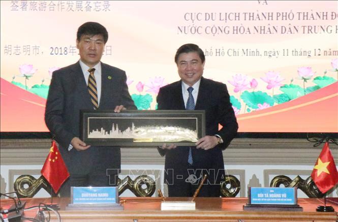 Tăng cường hợp tác thương mại, du lịch giữa Thành phố Hồ Chí Minh và Thành Đô (Trung Quốc)