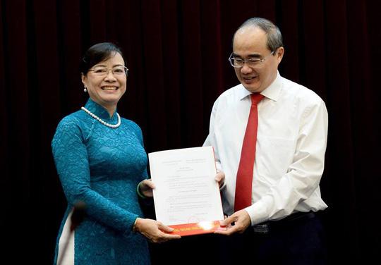 Đồng chí Nguyễn Thị Quyết Tâm nghỉ hưu theo chế độ