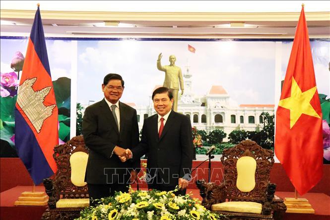 Thúc đẩy quan hệ hợp tác giữa TP. Hồ Chí Minh và các địa phương của Campuchia