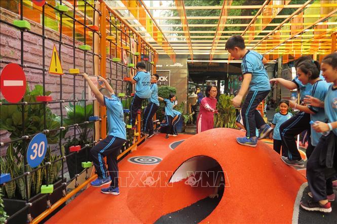 Đưa vào hoạt động khu vui chơi giáo dục an toàn giao thông cho thiếu nhi