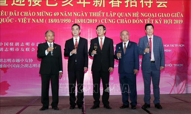 Vun đắp mối quan hệ hữu nghị giữa nhân dân TP Hồ Chí Minh và nhân dân Trung Quốc