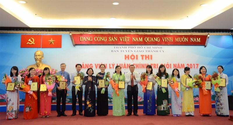 Hội thi giảng viên lý luận chính trị giỏi TP Hồ Chí Minh năm 2019