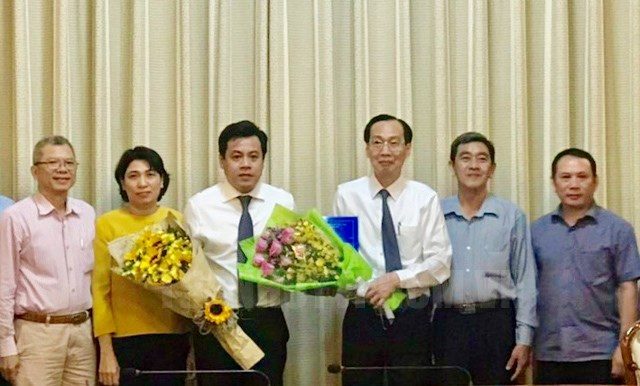Đồng chí Trần Anh Tuấn giữ chức Phó Giám đốc Sở Kế hoạch và Đầu tư