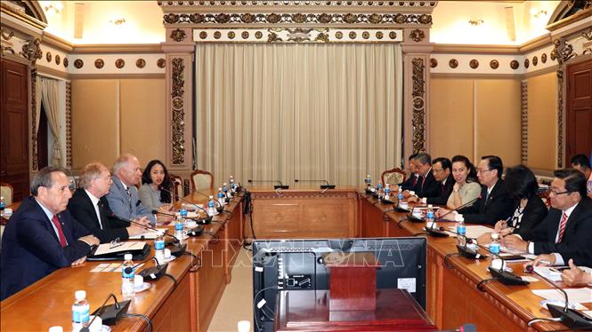 Doanh nghiệp Canada mong muốn hợp tác đầu tư, kinh doanh lâu dài tại TP. Hồ Chí Minh
