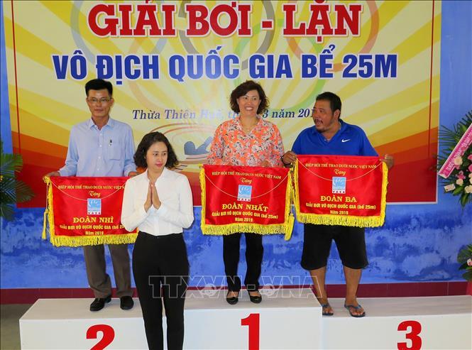 Thành phố Hồ Chí Minh nhất toàn đoàn Giải bơi - lặn vô địch quốc gia bể 25m