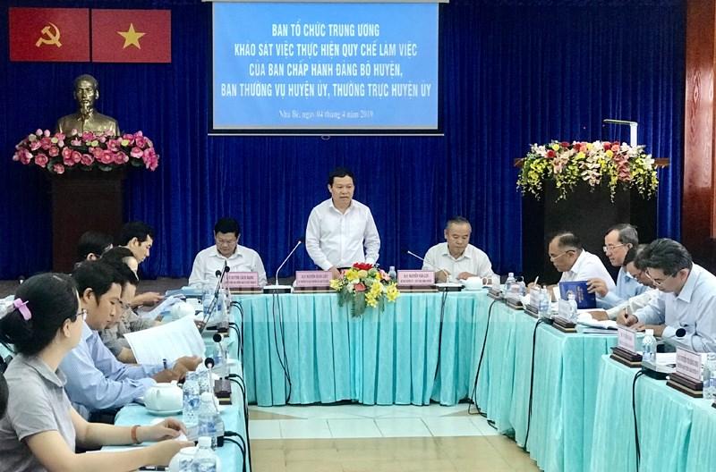 Cần tổ chức đối thoại, lắng nghe ý kiến của nhân dân về công tác xây dựng Đảng