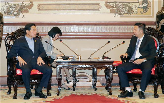 Kết nối hợp tác giữa TP Hồ Chí Minh và thành phố Ansan (Hàn Quốc)