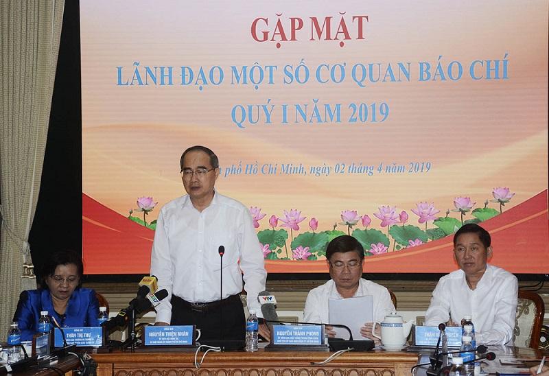 TP. Hồ Chí Minh mong báo chí luôn chia sẻ, đồng hành