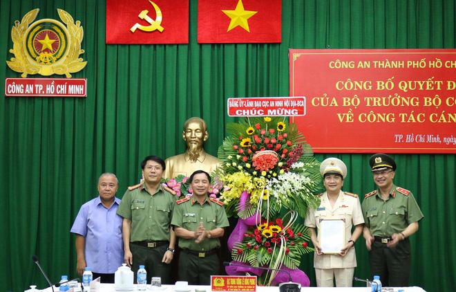 Đại tá Nguyễn Sỹ Quang giữ chức Phó Giám đốc Công an TP. Hồ Chí Minh
