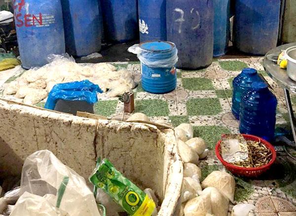 Phát hiện gần 2 tấn thực phẩm ngâm hóa chất độc hại