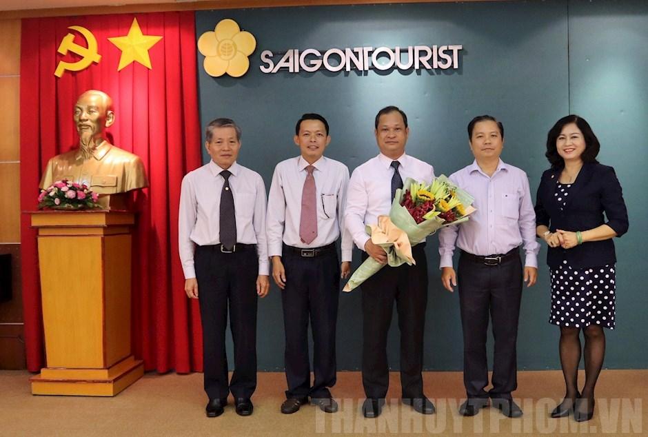 Trao quyết định bổ nhiệm Phó Bí thư Đảng ủy Tổng Công ty Du lịch Sài Gòn