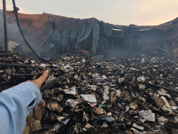 Vụ cháy kho lưu trữ hồ sơ không ảnh hưởng đến quyết toán kinh phí trợ giá xe buýt