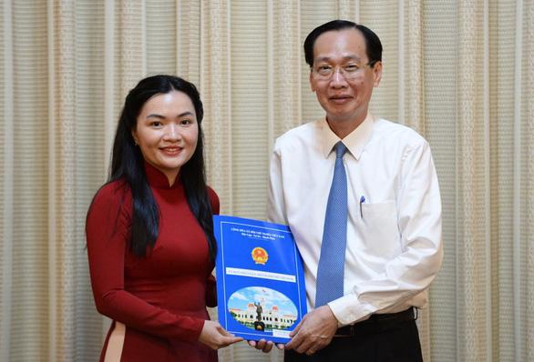 Đồng chí Võ Thị Ngọc Thúy giữ chức Phó Giám đốc Sở Du lịch TP.Hồ Chí Minh