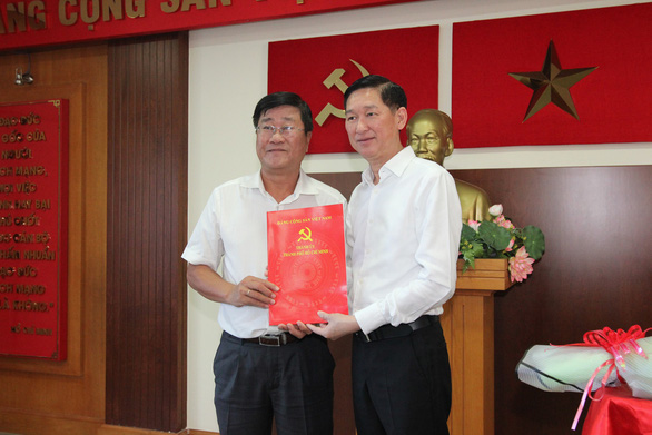 Đồng chí Bùi Văn Phúc làm Phó Bí thư Thường trực Quận ủy Quận 2