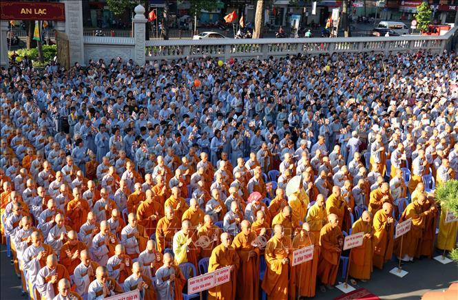 Giáo hội Phật giáo Việt Nam Thành phố Hồ Chí Minh tổ chức Đại lễ Phật đản
