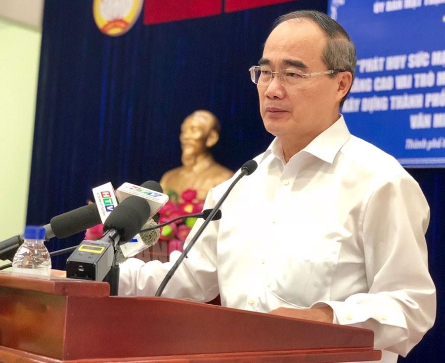 Nâng cao vai trò của MTTQ trong xây dựng TP Hồ Chí Minh văn minh, hiện đại, nghĩa tình