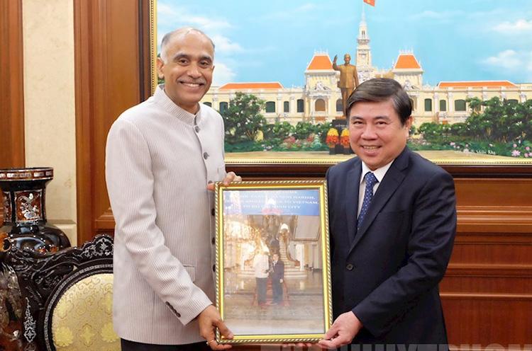 Tiếp tục thúc đẩy quan hệ hợp tác giữa TP Hồ Chí Minh và Ấn Độ