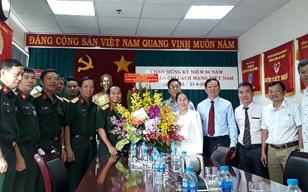Lãnh đạo TP. Hồ Chí Minh thăm, chúc mừng các cơ quan báo chí