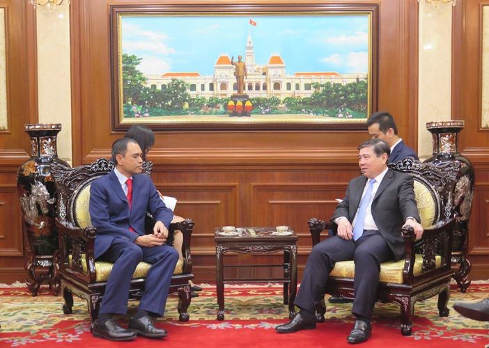 TP.Hồ Chí Minh hoan nghênh doanh nghiệp Malaysia quan tâm đầu tư vào tuyến metro