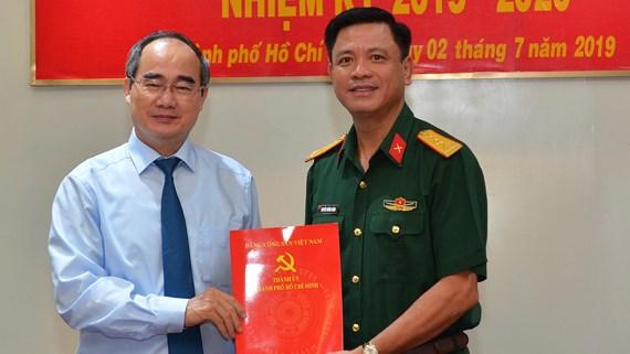 Đại tá Nguyễn Trường Thắng giữ chức Phó Bí thư Đảng ủy Quân sự TP. Hồ Chí Minh