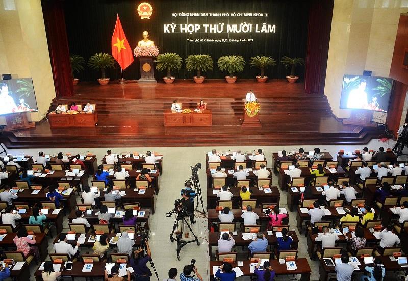 HĐND TP. Hồ Chí Minh thông qua 22 Nghị quyết
