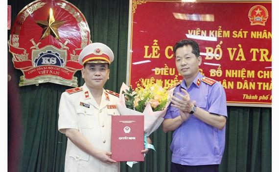 Đồng chí Đỗ Mạnh Bổng giữ chức Viện trưởng Viện Kiểm sát nhân dân TPHCM