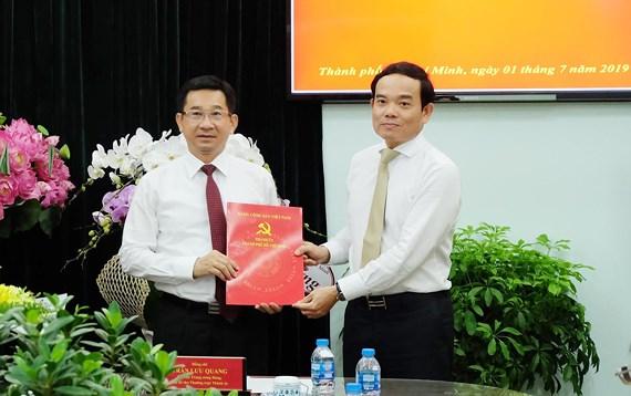 Đồng chí Dương Ngọc Hải giữ chức Phó Trưởng Ban Nội chính Thành ủy TPHCM
