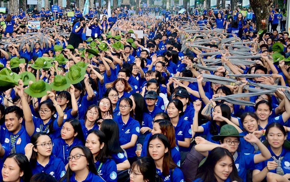 Hơn 6 vạn sinh viên tham gia chiến dịch tình nguyện Mùa hè xanh