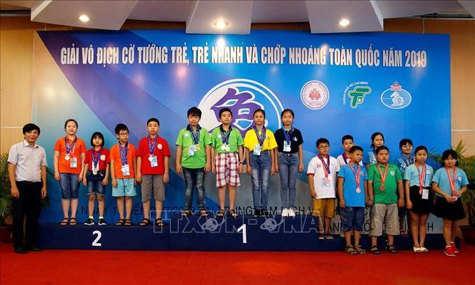 TP Hồ Chí Minh dẫn đầu Giải vô địch Cờ tướng trẻ, cờ nhanh và chớp nhoáng toàn quốc
