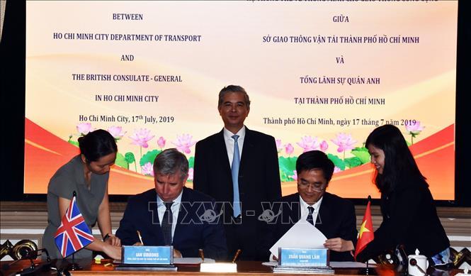 Thành phố Hồ Chí Minh và Anh quốc hợp tác trong xây dựng đô thị thông minh