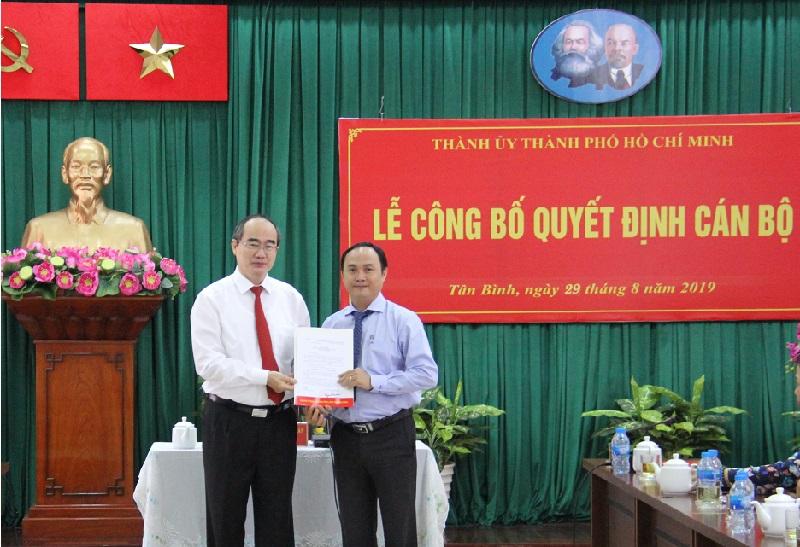 Đồng chí Lê Hoàng Hà giữ chức Bí thư Quận ủy Tân Bình