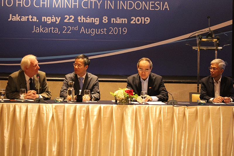 Lãnh đạo TP. Hồ Chí Minh tìm hiểu các giải pháp chống ngập của Indonesia