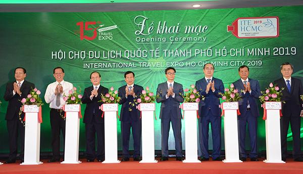 Khai mạc Hội chợ Du lịch quốc tế TP. Hồ Chí Minh 2019