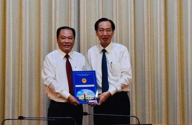 Bác sĩ Nguyễn Hoài Nam giữ chức Phó Giám đốc Sở Y tế TP. Hồ Chí Minh