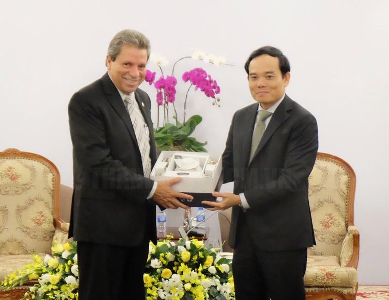 Thúc đẩy và làm sâu sắc hơn nữa quan hệ hữu nghị, hợp tác Việt Nam - Cuba