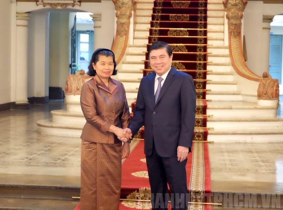 Vun đắp quan hệ giữa TPHCM và các địa phương của Campuchia