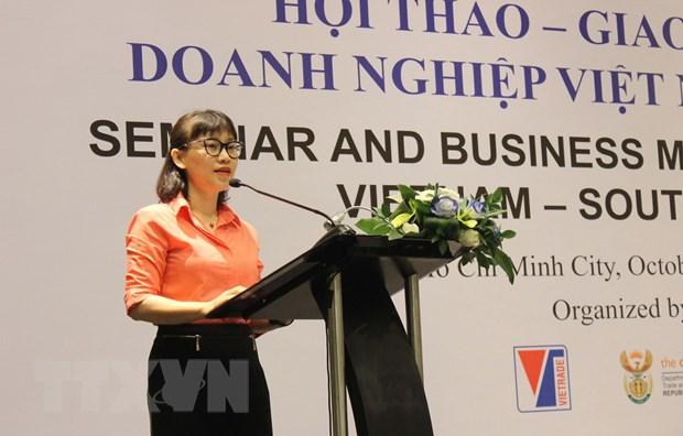 Nam Phi là đối tác thương mại lớn nhất của Việt Nam tại châu Phi