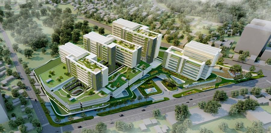 Đầu tư gần 2.000 tỷ đồng xây dựng mới Bệnh viện đa khoa khu vực Thủ Đức