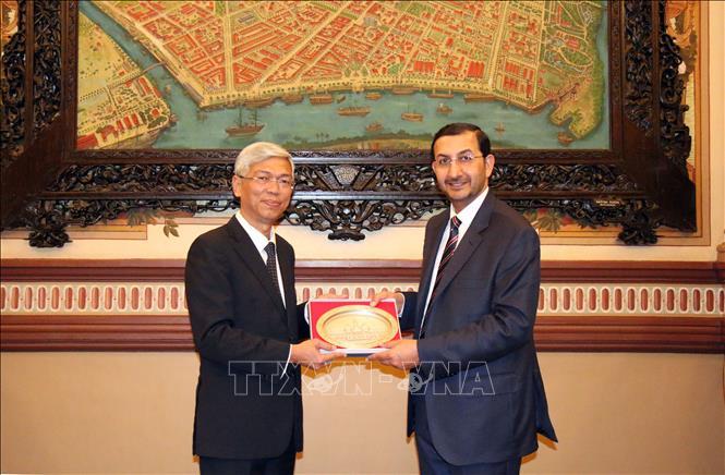 Thúc đẩy quan hệ hợp tác giữa TP. Hồ Chí Minh và UAE