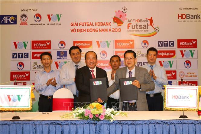 Giải Futsal HDBank Vô địch Đông Nam Á 2019 diễn ra tại TP. Hồ Chí Minh