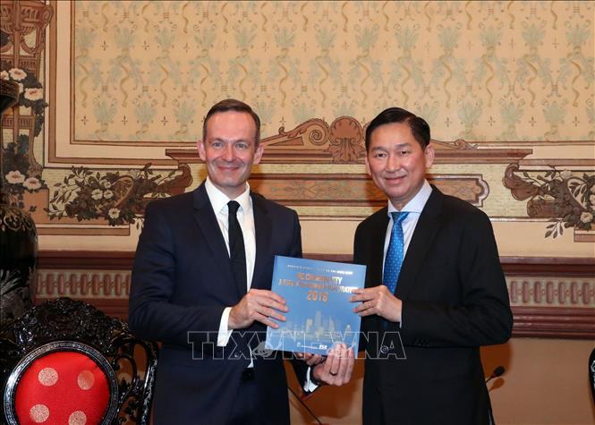 Thúc đẩy hợp tác giữa TP. Hồ Chí Minh và bang Rheinland Pfalz