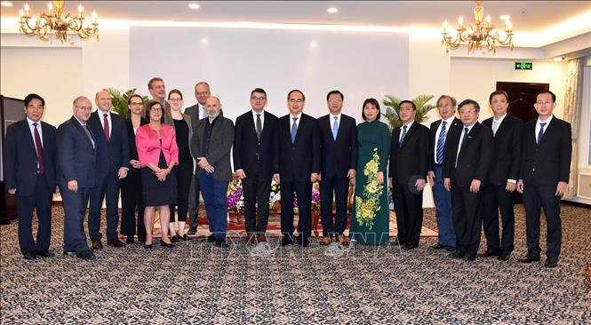 Tăng cường hợp tác giữa TP Hồ Chí Minh với bang Hessen, CHLB Đức