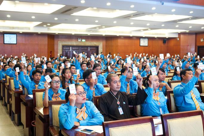 Anh Ngô Minh Hải tái đắc cử Chủ tịch Hội LHTN Việt Nam TP. Hồ Chí Minh