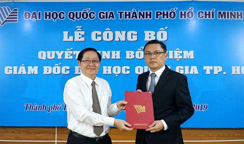 Công bố quyết định bổ nhiệm Phó Giám đốc Đại học Quốc gia TP. Hồ Chí Minh