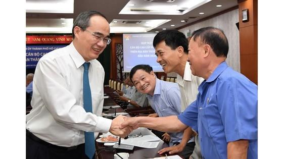 Thành ủy TP. Hồ Chí Minh họp mặt cán bộ cấp cao nghỉ hưu