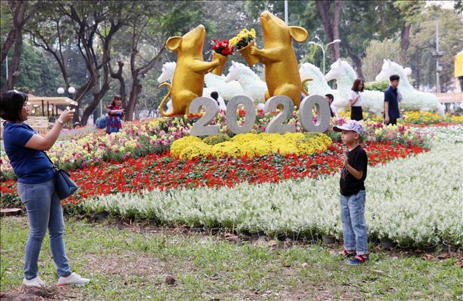 Khai mạc Hội hoa Xuân TP Hồ Chí Minh Canh Tý 2020