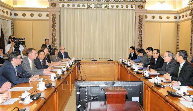 TP Hồ Chí Minh mong muốn tăng cường hợp tác giáo dục với Hoa Kỳ